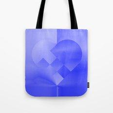 Danish Heart Blues Tote Bag