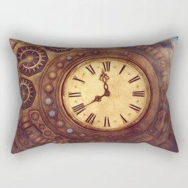 Time Passes Away Rectangular Pillow
