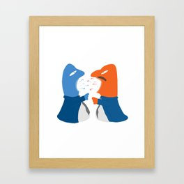 Discuss Framed Art Print