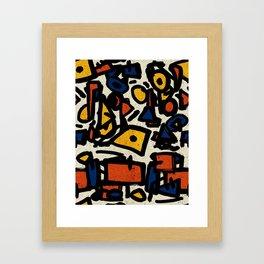Pattern № 47 Framed Art Print