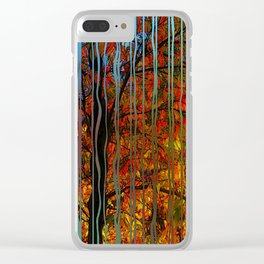 Crisp early October Clear iPhone Case