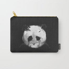 CROUCHING PANDA HIDDEN SOMEWHERE - painting Carry-All Pouch