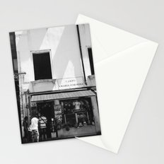 Window shopping in Venice Stationery Cards