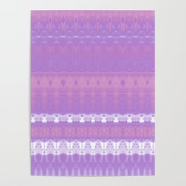 Purple Lagoon Poster