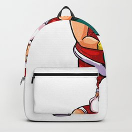 Santa bass Backpack