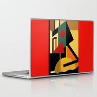 kandinsky Laptop & iPad Skins featuring THE GEOMETRIST by THE USUAL DESIGNERS
