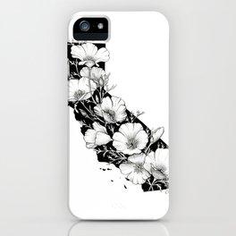 California In Bloom iPhone Case