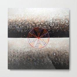 Hilma af Klint Swan X Metal Print