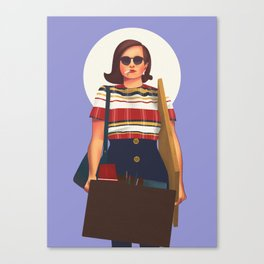Peggy Olson from Mad Men Canvas Print