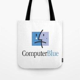 ComputerBlue Tote Bag