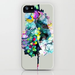 Fantasy Tree 18 by Leslie Harlow iPhone Case