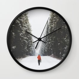 Bow Valley Parkway Wall Clock