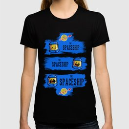The Good, the Bad and the SPACESHIP! T-shirt