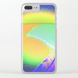 Iceberg A68 - Ultraviolet Satin Clear iPhone Case