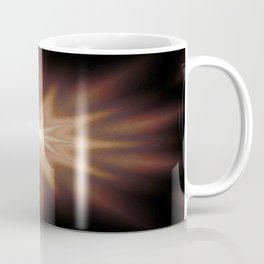 Brown Mandala Star Coffee Mug