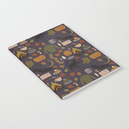Autumn Nights Notebook