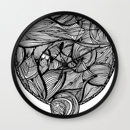 BODY OF WATER. Wall Clock