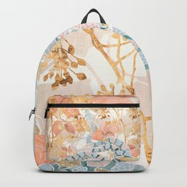 Coral Spring Garden Backpack