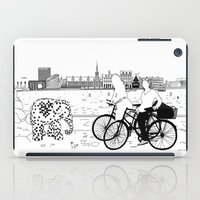copenhagen iPad Cases featuring Copenhagen by sarknoem