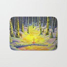 Winter Sorcery Bath Mat