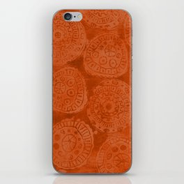 Tribal Terracota Rounds iPhone Skin