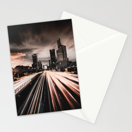LIGHTS IN THE CITY Stationery Cards