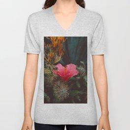 California Bloom III Unisex V-Neck