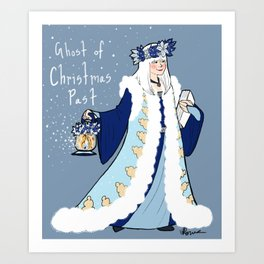 The Ghost of Christmas Past Art Print