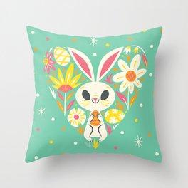 I Heart Easter Throw Pillow