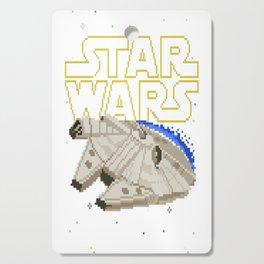 Millenium Falcon Squared Cutting Board