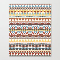Aztec 2 Canvas Print