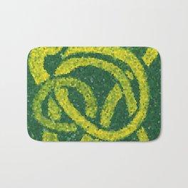 Mosaic: Yellow Ribbon Bath Mat