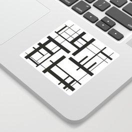 Lines #3 Sticker