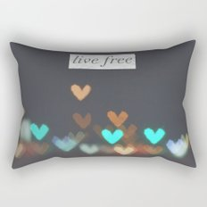Live Free  Rectangular Pillow