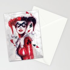 Harley Quinn NYCC 2014 Stationery Cards