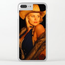 Warmth of the Fire II Clear iPhone Case