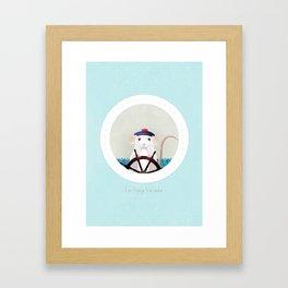 I'm Popeye the sailor Framed Art Print