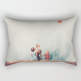 Wirelessly connected to Eternity Rectangular Pillow