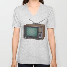 Television set TV Unisex V-Neck