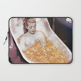 Bathing in Gold is Good For Your Soul Laptop Sleeve