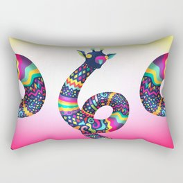 Spontaneus Giraffe Rectangular Pillow