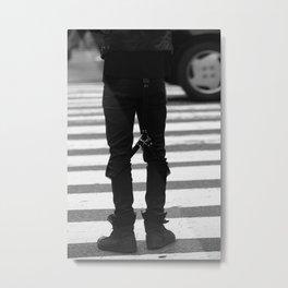 Crosswalk Metal Print