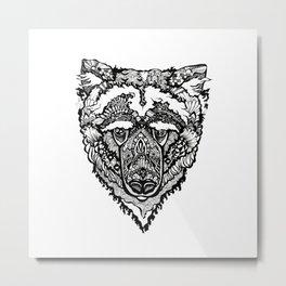 Spirit Bear Metal Print