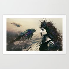 The Last Neuroapache Art Print