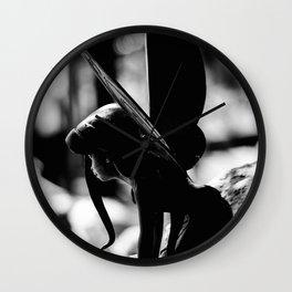 SILVERMIST - BW Wall Clock