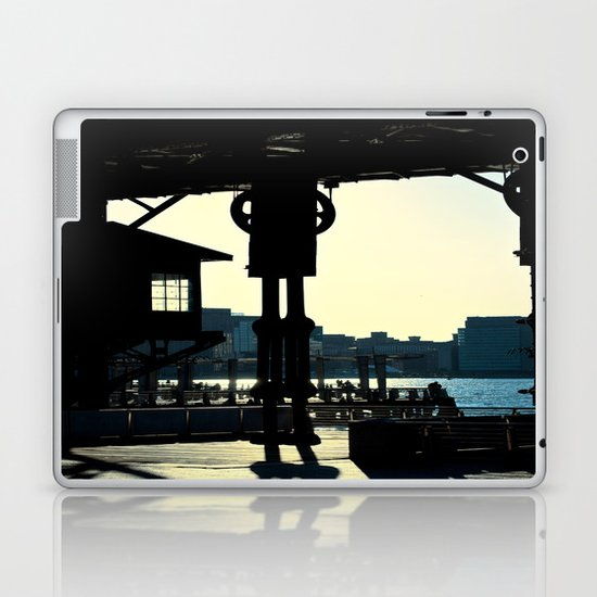 Long Island Pier Laptop & iPad Skin
