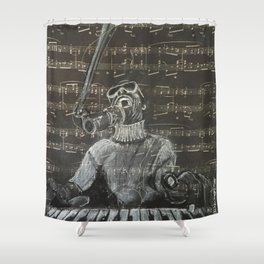 The Key of Life Shower Curtain