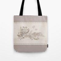 jack daniels Tote Bags featuring Jack by Hendry Lim