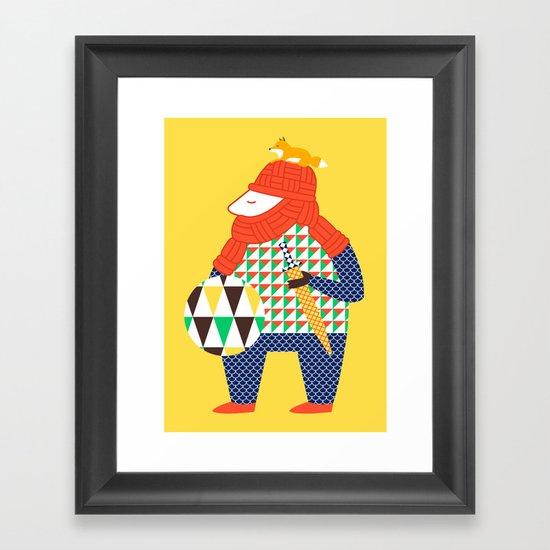 Warrior's Pet Framed Art Print