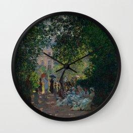 """Claude Monet """"The Parc Monceau"""" Wall Clock"""